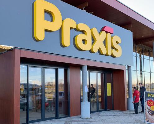 Praxis Doe-Het-Zelf Bouwmarkt Bouwplein Renesse