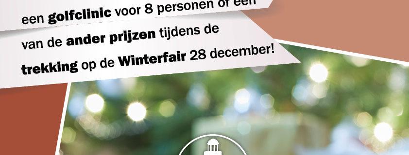 Posters Decemberactie Burgh-Haamstede Zeeland