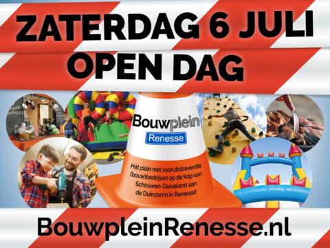 Open dag Bouwplein Renesse leuk voor jong en oud